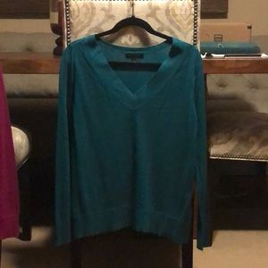 Cashmere and silk light weight sweater